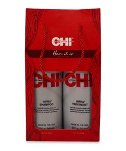 CHI Hair It Is Kit Infra Shampoo 32 oz & Infra Treatment 32 oz Combo Pack