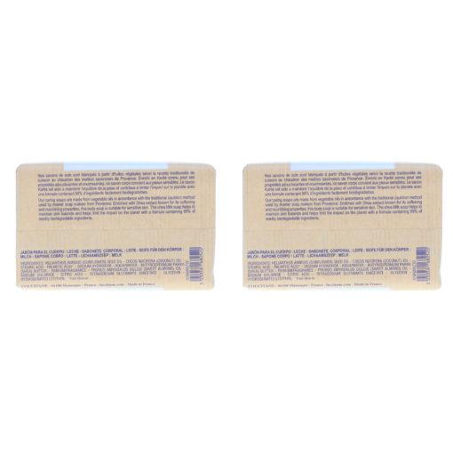 L'Occitane Shea Milk Bar Soap 8.8 oz 2 Pack