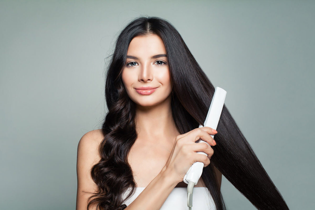 How To Style Long Straight Hair image