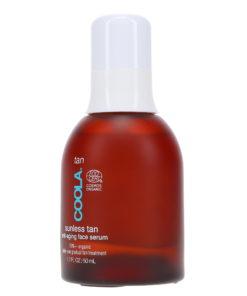 Coola Suncare Organic Sunless Tan Anti-Aging Face Serum 1.7 Oz