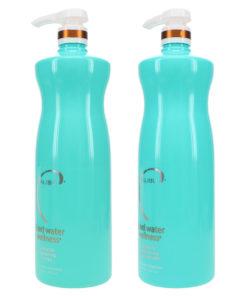 Malibu C Hard Water Wellness Shampoo 33.8 oz & Hard Water Wellness Conditioner 33.8 oz Combo Pack