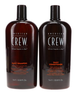 American Crew Daily Shampoo 33.8 oz & Conditioner 33.8 oz Combo Pack