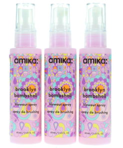 Amika Bombshell Blowout Spray 2 oz 3 Pack