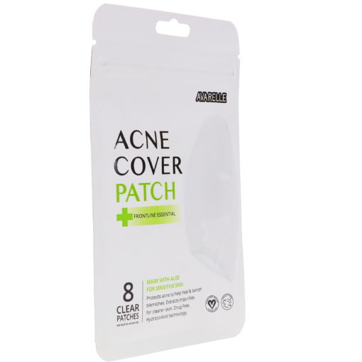 Avarelle Acne Cover Patch Frontline Essential 8 Oval Patches
