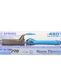 BaBylissPRO Nano Titanium Spring Curling Iron 1 1/2 Inch