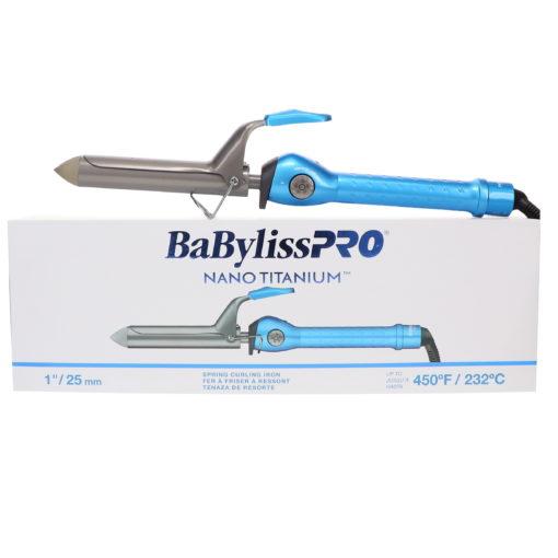 "BaBylissPRO Nano Titanium 1"" Spring Curling Iron"
