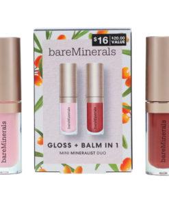 bareMinerals Glow+ Balm in 1 Mini Mineralist Duo 0.14 oz
