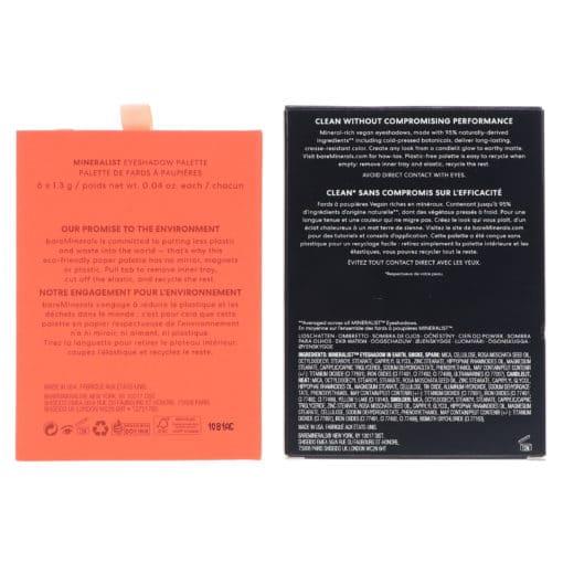 bareMinerals Mineralist Eyeshadow Palette Burnished 0.04 oz