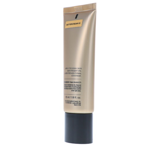bareMinerals Complexion Rescue Tinted Hydrating Gel Cream Broad Spectrum SPF 30 Buttercream 03 1.18 oz