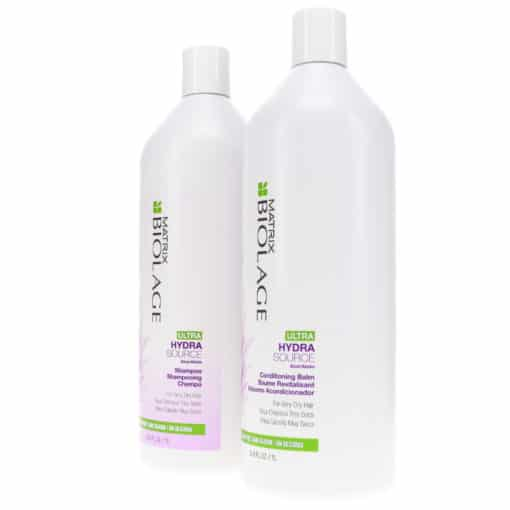 Matrix Biolage Ultra Hydrasource Shampoo 33.8 oz & Ultra Hydrasource Conditioner 33.8 oz Combo Pack