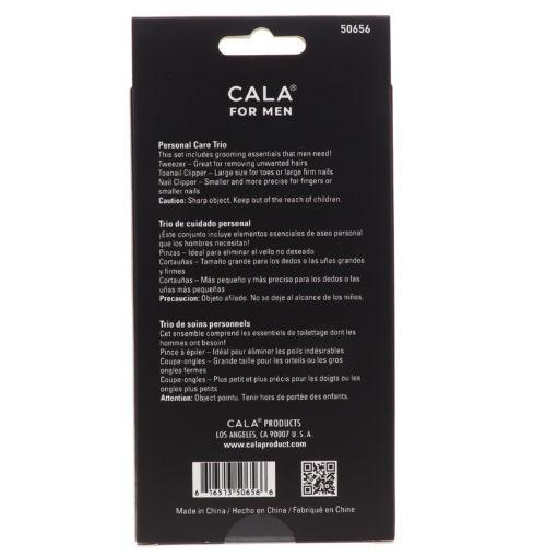 CALA Men's Personal Care Trio Matte Black
