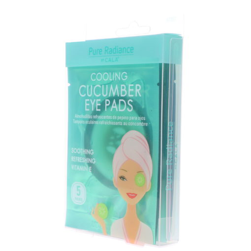 CALA Pure Radiance Cooling Cucumber Eye Patches 5 ct