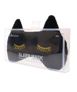 CALA Sleep Mask Black Cat