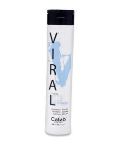 Celeb Luxury Viral Baby Blue Color Wash Shampoo 8.25 oz