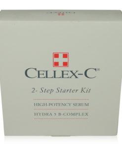 Cellex-C 2-Step Starter Kit, High-Potency Serum, Hydra 5 B-Complex 1 kit