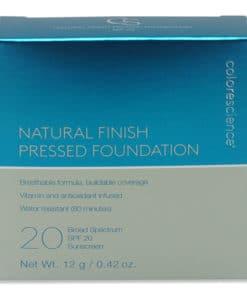 Colorescience Finish Pressed Foundation SPF 20 Medium Sunlight 0.42 oz