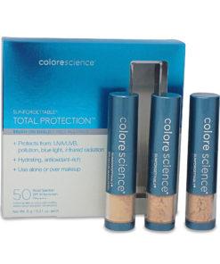 Colorescience Sunforgettable Brush on Sunscreen SPF 50 Medium 3 Piece Multipack 0.21 oz Each