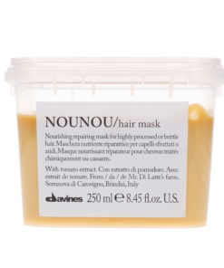 Davines NOUNOU Nourishing Shampoo 8.45 oz, NOUNOU Nourishing Conditioner 8.45 oz & NOUNOU Nourishing Hair Mask 8.45 oz