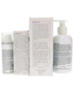 Elta MD Foaming Enzyme Facial Cleanser 7 oz and PM Therapy Facial Moisturizer 1.7 oz Combo Pack