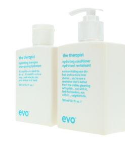 EVO The Therapist Calming Shampoo 10.14 oz & The Therapist Calming Conditioner 10.14 oz Combo Pack