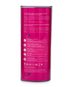 FOREO Issa Mikro Rechargeable Baby Electric Toothbrush with Soft Silicone Bristles, Fuchsia