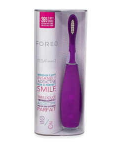 FOREO Issa Mini 2 Rechargeable Kids Electric Regular Toothbrush for Complete Oral Care, Enchanted Violet