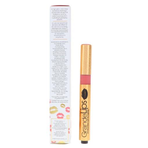 GrandeLash GrandeLips Hydrating Lip Plumper Gloss Spicy Mauve 0.084 oz