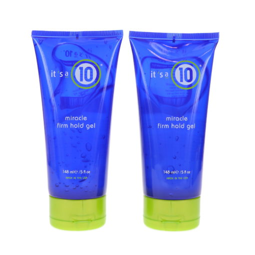 It's a 10 Miracle Firm Hold Gel 5 oz 2 Pack