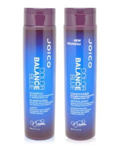Joico Color Balance Blue Shampoo 10.1 oz & Color Balance Blue Conditioner 10.1 oz Combo Pack