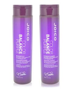 Joico Color Balance Purple Shampoo 10.1 oz & Color Balance Purple Conditioner 10.1 oz Combo Pack
