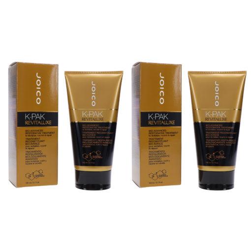Joico K-Pak Revitaluxe Bio-Advanced Restorative Treatment 5.1 oz 2 Pack