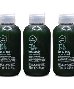 Paul Mitchell Tea Tree Hair and Body Moisturizer 2.5 oz 3 Pack