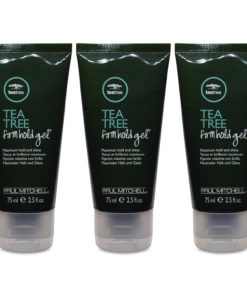 Paul Mitchell Tea Tree Firm Hold Gel 2.5 oz 3 Pack