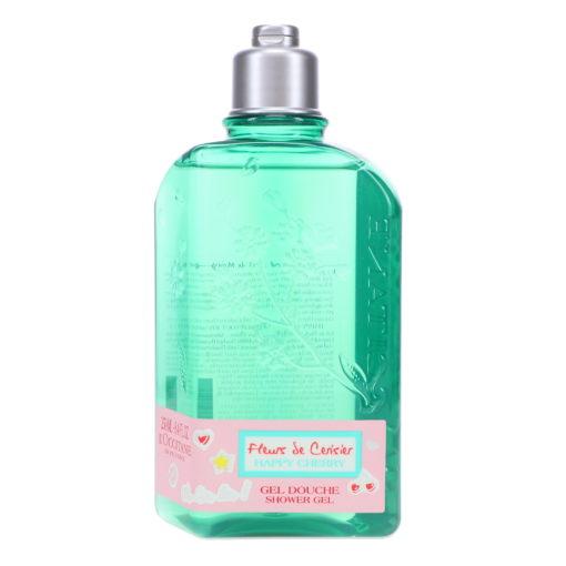 L'Occitane Fleurs de Cerisier Happy Cherry Shower Gel 8.4 oz