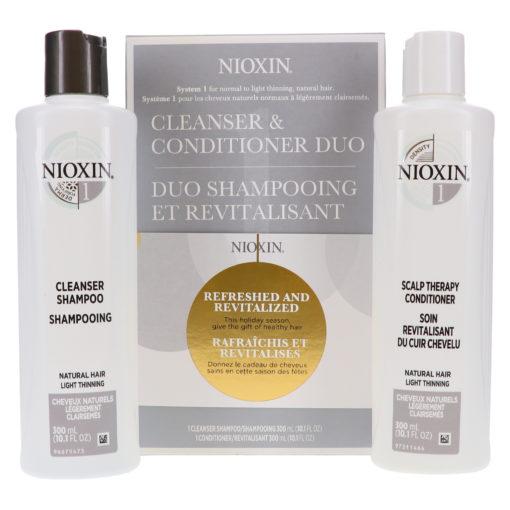 Nioxin System 1 Gift Set 2 Piece