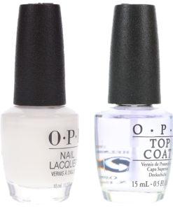 OPI Funny Bunny 0.5 oz & Top Coat 0.5 oz Combo Pack