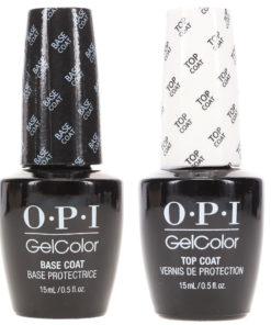 OPI GelColor Top Coat 0.5 oz & GelColor Base Coat 0.5 oz Combo Pack