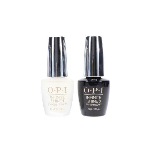 OPI Base Coat Prime  & Gloss Top Coat Infinite Shine Duo Set
