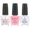 OPI It's A Girl 0.5 oz, Top Coat 0.5 oz & Natural Nail Base Coat 0.5 oz Combo Pack