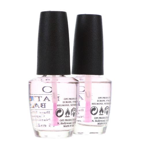 OPI Natural Nail Base Coat T10 0.5 oz 2 Pack