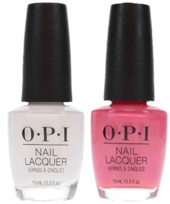 OPI Aphrodite's Pink Nightie 0.5 oz & Alpine Snow 0.5 oz Pink French Combo Pack