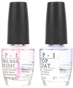 OPI Top Coat 0.5 oz & Natural Nail Base Coat 0.5 oz Combo Pack