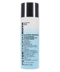 Peter Thomas Roth Water Drench Hyaluronic Micro-Bubbling Cloud Mask 4 oz