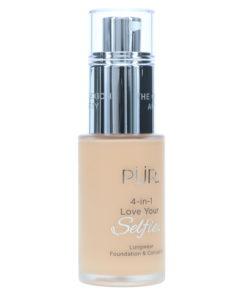 PUR 4-In-1 Love Your Selfie Longwear Foundation & Concealer Light Golden LG4 1 oz