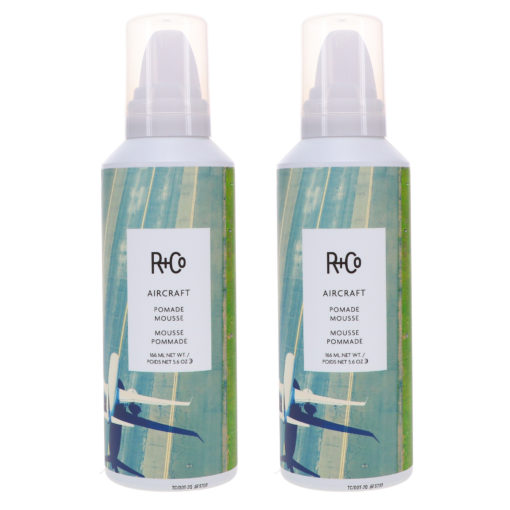 R+CO Aircraft Pomade Mousse 5.6 oz 2 Pack