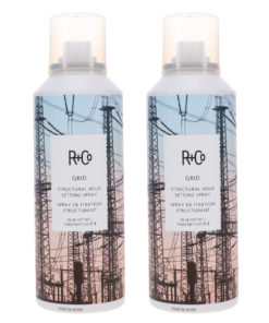 R+CO Grid Structural Hold Setting Spray 5 oz 2 Pack