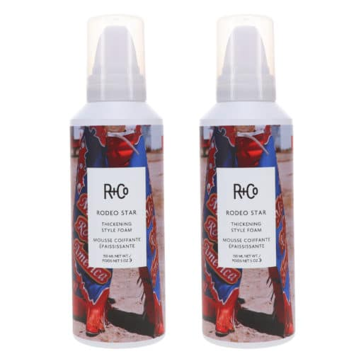 R+CO RODEO STAR Thickening Style Foam 5 oz 2 Pack