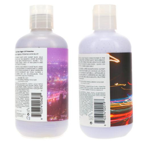 R+CO Sunset Blvd Blonde Shampoo 8.5 oz & Sunset Blvd Blonde Conditioner  8.5 oz Combo Pack