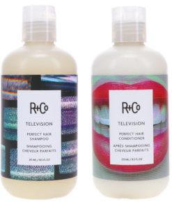 R+CO Television Perfect Hair Shampoo 8 oz & Television Perfect Hair Conditioner 8 oz Combo Pack