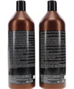 Redken Brews Extra Clean Shampoo 33.8 oz & Redken Brews Daily Conditioner 33.8 oz Combo Pack